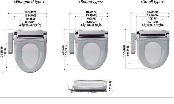 Vebra Ocean Limited Edition Perfect Size Dusch WC Aufsatz