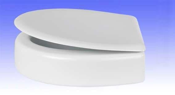 Antidekubitus-WC-Sitz Höhe 10 cm für VAmat Dusch-WC