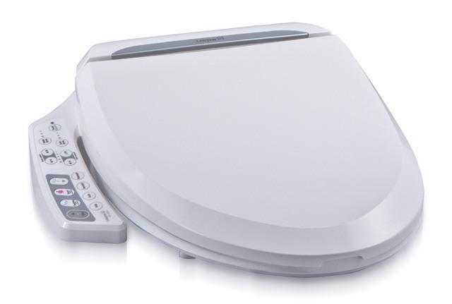 Dusch WC Aufsatz UB-6210 Comfort mit der besonders großen Lochöffnung