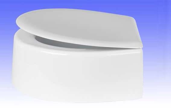 Sitzerhöhung Höhe 16 cm für VAmat Dusch-WC