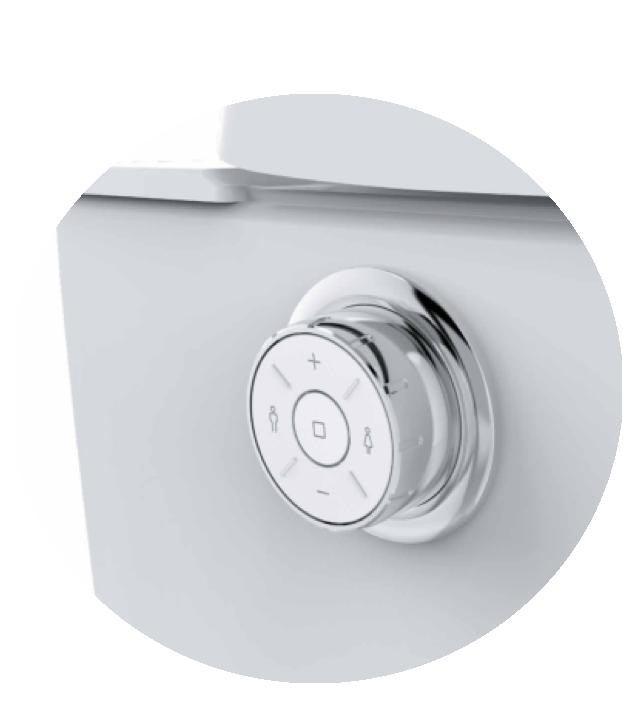 Popodusche® PRO 2.0 Wand Dusch WC