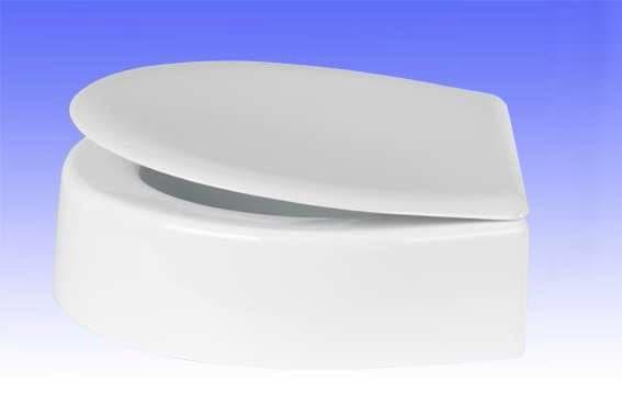 Sitzerhöhung Höhe 12 cm für VAmat Dusch-WC