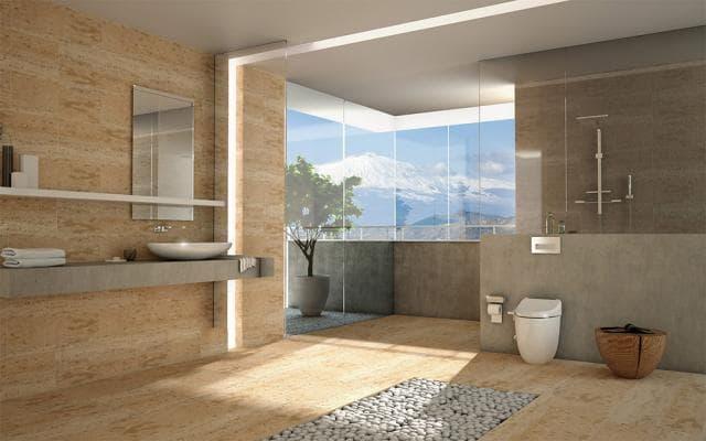 USPA 7235 Design Toilettenbidet / Washlet Aufsatz